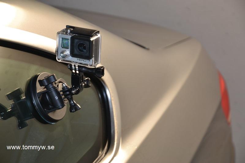 GoPro på bilen
