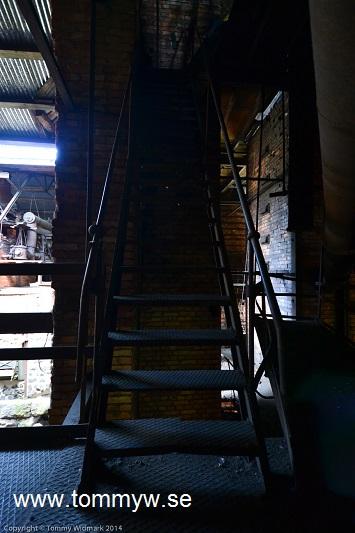 Trappa i hyttan